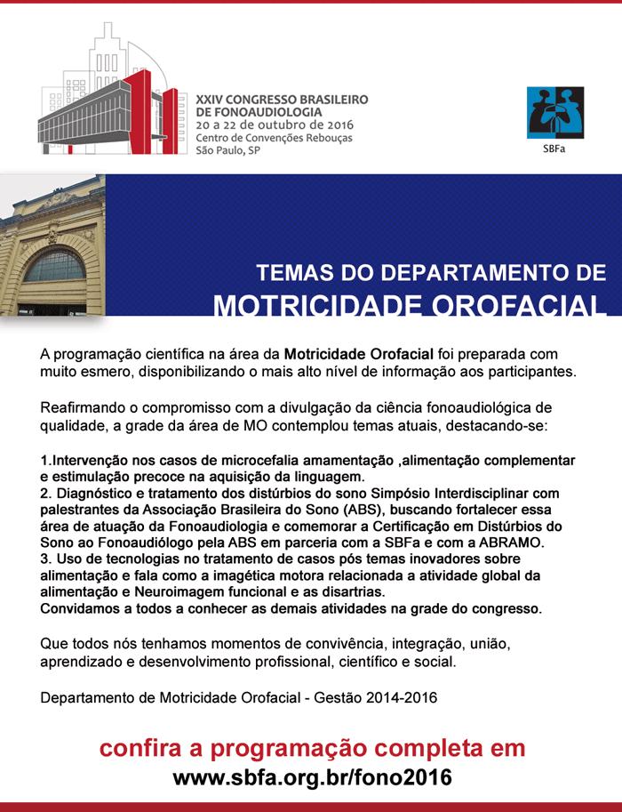 XXIV Congresso Brasileiro de Fonoaudiologia