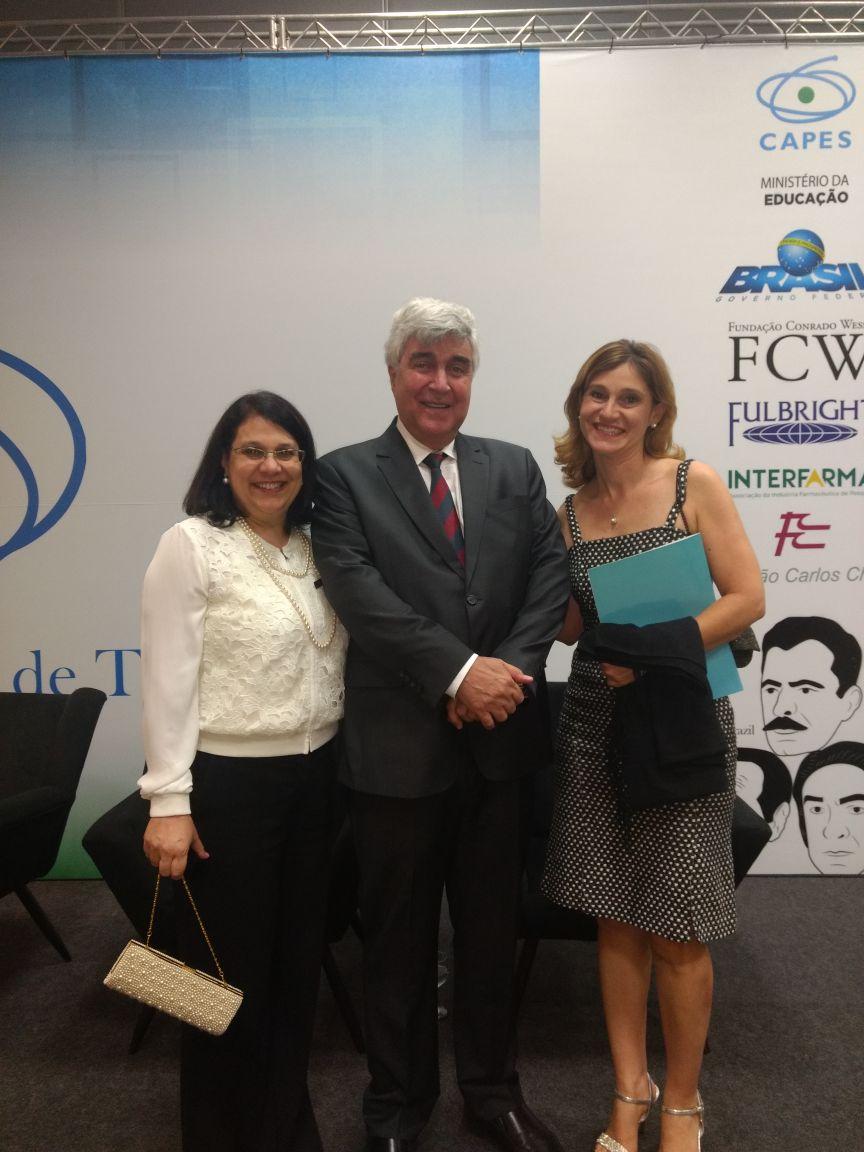 foto com o presidente da CAPES